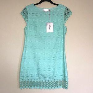 Joompy • Mint Crochet Dress. Size M.
